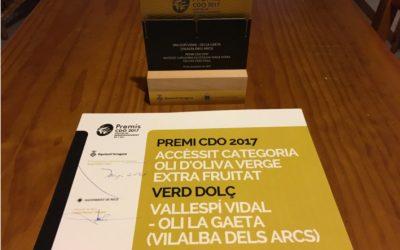 Premios CDO 2017 – Aceite de Oliva Virgen