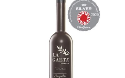 """Medalla """"Silver"""" en la feria Olive Japan 2020"""