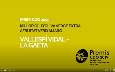 Video promocional de los premios Centre de Desenvolupament de l'Oli de Reus